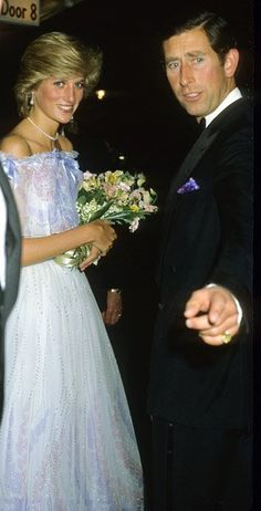 1983-05-23 Diana and Charles at the Royal Albert Hall to attend the Centenary Concert by the Royal College of Organists which was granted its Royal Charter a century ago