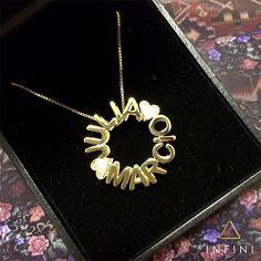 eebeba3806251 pingente Mandala personalizada em ouro 18k e diamantes! Infini Joias   beinfini