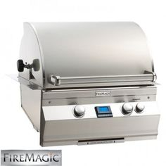 Fire Magic Aurora Built-in Propane Gas Bbq Grill With One Infrared Burner And Magic View Window - Grill Sale, Diy Grill, Barbecue Grill, Propane Gas Grill, Gas Bbq, O Gas, Fire Magic, Built In Grill, Outdoor Kitchen Design