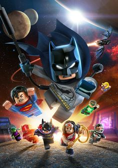 LEGO Batman 3: DC Comics The New 52 Cover Variants on Behance