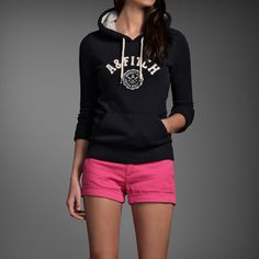 Abercrombie & Fitch - Shop Official Site - Womens - Chelsea Hoodie