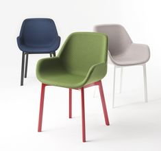 Clap armchair/Design:Patricia Urquiola KARTELL