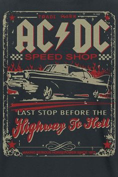 Retro Wallpaper Discover Highway To Hell - Speed Shop Foto Poster, Poster S, Poster Wall, Poster Prints, Poster Ideas, Bedroom Wall Collage, Photo Wall Collage, Picture Wall, Posters Tumblr