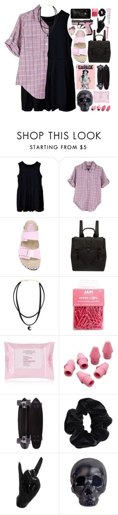 """""""christa"""" by gemmonkey ❤ liked on Polyvore featuring United by Blue, Giambattista Valli, Kenzo, Paper Mate, GoldCoast, American Apparel, Thelermont Hupton, Dot & Bo and Glossier"""