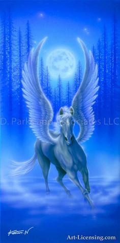 Mystical Animals, Mythical Creatures Art, Mythological Creatures, Magical Creatures, Fantasy Creatures, Unicorn And Fairies, Unicorn Fantasy, Unicorn Art, Unicorn Wallpaper Cute