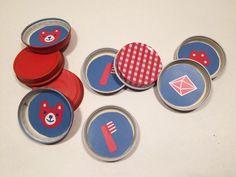 Muistipeli. lasten | askartelu | joulu | käsityöt | koti | leikki | DIY ideas | kid crafts | christmas | home |  Pikku Kakkonen