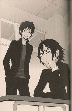 Shinra and Izaya, Durarara!!