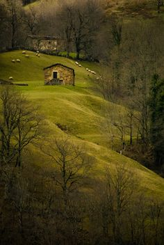 Not sure if this is a Barn, but it's a stunning photo. Cantabria, Spain