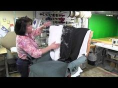 Channel Back Chair Upholstery Part 3 - YouTube