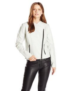 BB Dakota Women's Rylan Garment Washed Pu Jacket * Details can be found  : Fashion