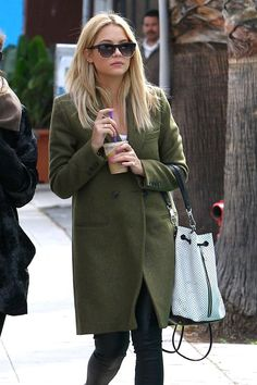Ashley Benson Street Fashion Style