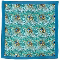 foulard paon