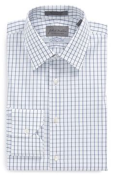 Men's John W. Nordstrom Signature Traditional Fit Check Dress Shirt