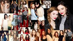 Teen Wolf - Chrystal Reed and Holland Roden / Allison Argent and Lydia Martins