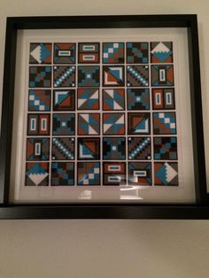 Hama beads│Inca patterns converted into Hama beads│Design © 2015 Lene Holm Gamborg