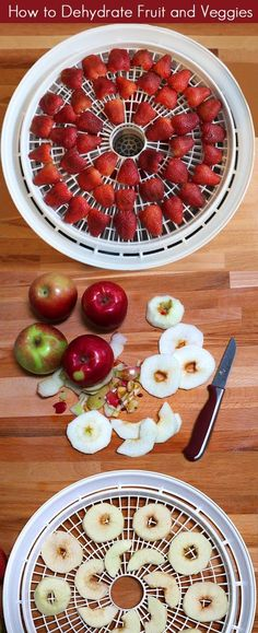 How To Dehydrate Fruits and Vegetables (gardening, canning, recipes, cooking, paleo, healthy eating, snacks)