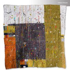 """Chaos Ensues, 32"""" x 32"""", 2016, Paula Kovarik"""