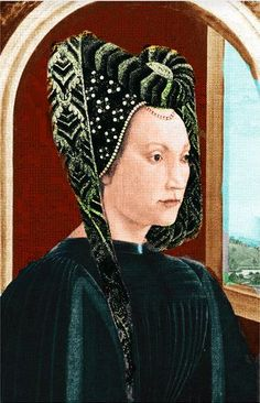 Clarice Orsini de Medici (1453-1488) - Married Lorenzo de' Medici by proxy on February 7 1469.  She was deeply unpopular in Florence because of her religious views were in contrast with the humanist ideals of the age.