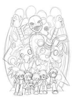 five_nights_at_freddy_s__sketch_by_skectasy-d86difs.jpg (761×1050)