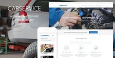 Carservice - Mechanic Auto Shop Template is a responsive and retina ready HTML Template best suitable for auto mechanic, car repair shop, mechanic workshop, car repair services, auto painting, auto detailing, tire or wheel shop. Tags: auto, auto center, auto shop, body shop, car, Car Repair, garage, handyman, mechanic, motor, painting, repair, serviceman, tires, workshop.