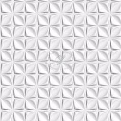 Texture seamless | White interior 3D wall panel texture seamless 02973 | Textures - ARCHITECTURE - DECORATIVE PANELS - 3D Wall panels - White panels