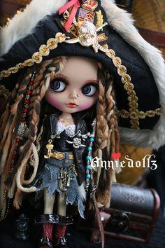 Mega cute!!  Blythe Pirate doll