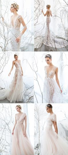 26 Ethereal Wedding Dresses That Look Like They Belong in Fairy Tales!