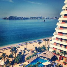 Crowne Plaza in Acapulco, Mexico popular with Men, Hispanic people, Tourists, Surfers