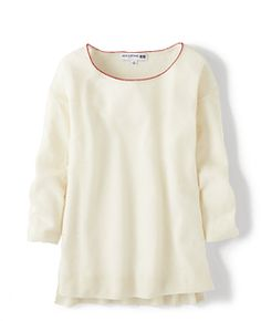 Collaboration with Ines de la Fressange | UNIQLO Women IDLF Linen Blend Sweater