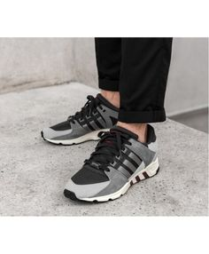 Adidas Equipment Support RF Trainers In Carbon Grey 5b1914738