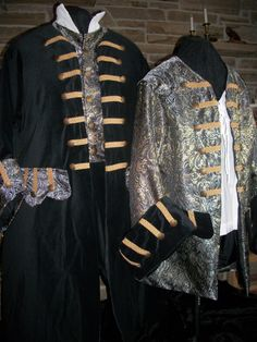 Custom Made His and Her pirate costumes includes 2 by sugar352, $600.00