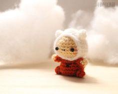 Amigurumi Chibi Doll : The adorable adventure time amigurumi dolls jake these are so