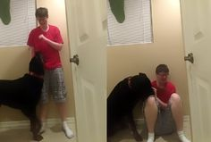 A Woman With Autism Has Bravely Shared A Video Of Her Rottweiler…