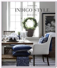 living #room #Blue #Accents #Decorating #Ideas