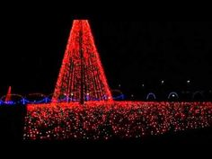 """""""Shadrack's Christmas Wonderland Lights"""" - Asheville, NC. This award winning light & music drive-through attraction is returning again to AVL at the WNC AG Center. They've added new lighting features, now totaling 2+ miles, synchronized to music broadcast to your car radio. At the end of the drive route is Santa's Village, with multiple fun activities for kids and holiday refreshments for purchase. Admission is charged based on the size and type of vehicle, with Cars & Family Vans at $20."""