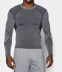 Men's Quicksilver Seamless Long Sleeve Compression Shirt | Under Armour US