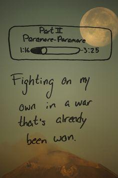 Part II - paramore