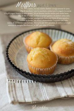 I muffins più buoni del mondo: con yogurt e scorza di limone   CUCINA GHIOTTA: