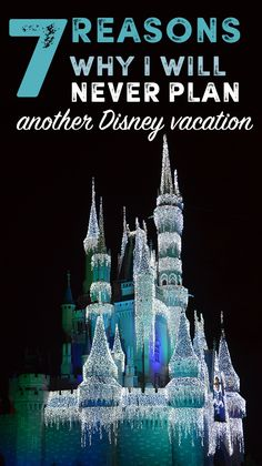 7 Reasons Why I Will Never Plan Another Disney Vacation – Queen Bee Coupons