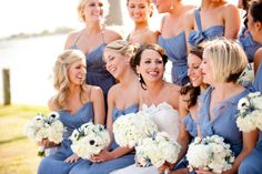 periwinkle #dress #bridesmaid