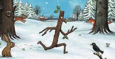 Stick Man has arrived in the forest! - news from Kielder Water and Forest Park. Axel Scheffler, Stick Man, Forest Park, Art Festival, Days Out, All Art, Rooster, Moose Art, Childhood