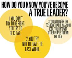 Have you become a true leader?