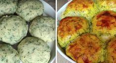 Φανταστικά γεμιστά ψωμάκια Cooking Recipes, Healthy Recipes, Chicken Alfredo, Superfoods, Baked Potato, Mashed Potatoes, Zucchini, Sushi, Dinner Recipes