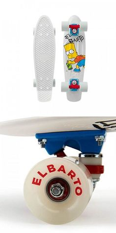 Longboards-Complete 165942: Penny X Simpsons El Barto 22 Bart Simpson Complete Skateboard Limited Edition -> BUY IT NOW ONLY: $109.99 on eBay!