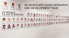 A insight for the products that I sell‼ Nu Skin has 75 in house sciences working for them... 75!!! where as other skin companies only have around 4