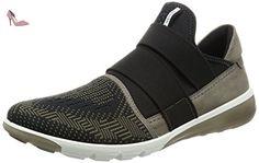 Ecco Intrinsic 2, Baskets Basses Homme, Vert (50321Tarmac-Black/Tarmac), 45 EU - Chaussures ecco (*Partner-Link)