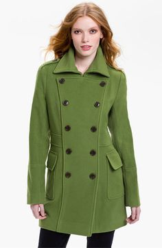 Marc New York Double Breasted Coat available at #Nordstrom