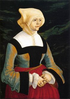 I FOUND IT! This is one of the paintings I've been looking for showing the 'wimple' style. THANK YOU!