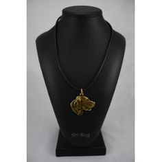 Necklace gilded with gold trial 999