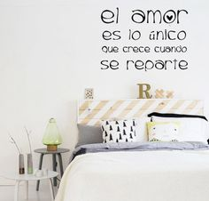BA_B Vinilo decorativo de Pared, podes enviar tu frase o texto! Hogar, decoracion, interiores, diseño, wall decals, stickers, calcos, design, poesia, words, palabras, frases, dichos. BA_B